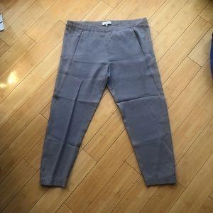 Grey Babaton (Aritzia) Pants Cropped at Ankle